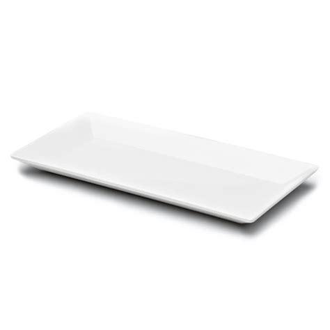 rectangular dinnerware elite global solutions dmp94 sides white 9 3 8 quot x 4 3 4 quot rectangular melamine plate