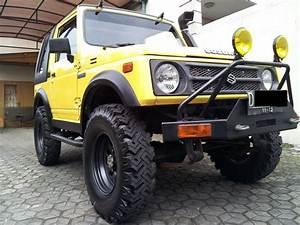 Modifikasi Suzuki Katana 4x4