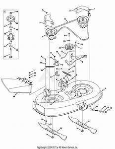Bolens 38 Inch Riding Mower Belt Diagram