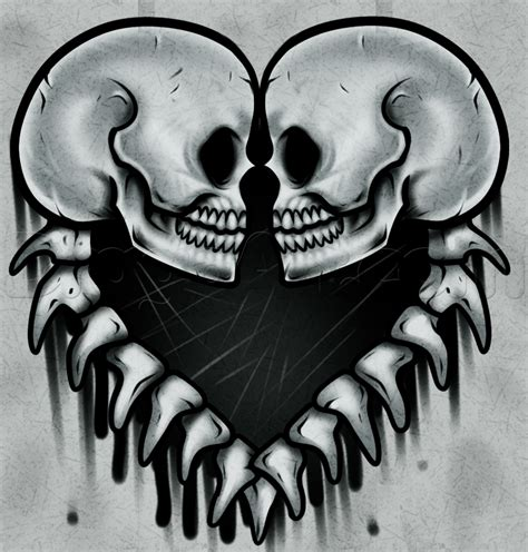 learn   draw skulls skulls pop culture  step