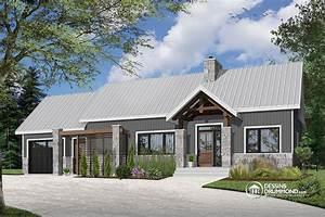 plain pied scandinave avec garage et terrasse abritee With beautiful idee maison plain pied 5 renovation de maison agrandissement