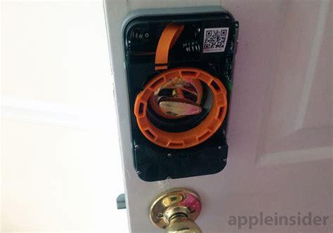 apple door lock review lockitron connected smart door lock