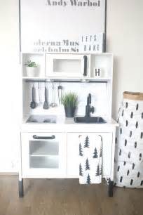 Ikea Duktig Hack by Ikea Hack Duktig Play Kitchen Monochrome Makeover Ikea