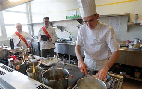 concours de cuisine cuisine les disciples d escoffier sont à la rochelle