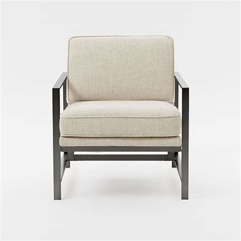 metal frame chair west elm