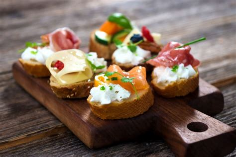 canape bar years food drink and theme ideas from
