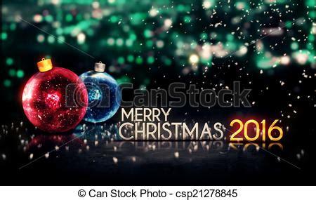 merry christmas 2016 bokeh beautiful 3d green background blue