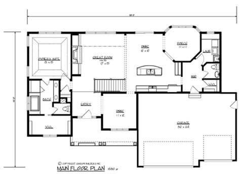 builder home plans the morton 1700 3 bedrooms and 2 baths the house designers