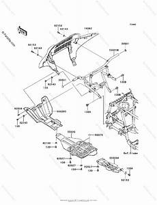Kawasaki Atv 2012 Oem Parts Diagram For Guard S