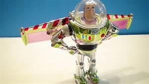 BUZZ LIGHTYEAR TOY CHROME SOUVENIR ACTION FIGURE VIDEO ...  Toy