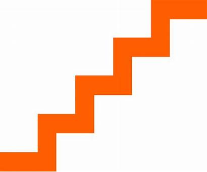 Clipart Stairs Cartoon Staircase Animated Clip Transparent