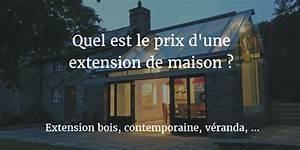 Prix M2 Extension Maison Parpaing : prix extension de maison guide des prix au m2 en 2019 ~ Melissatoandfro.com Idées de Décoration