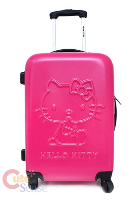 Koper Trolley Hello Hotpink sanrio hello luggage trolley bag abs 20 quot