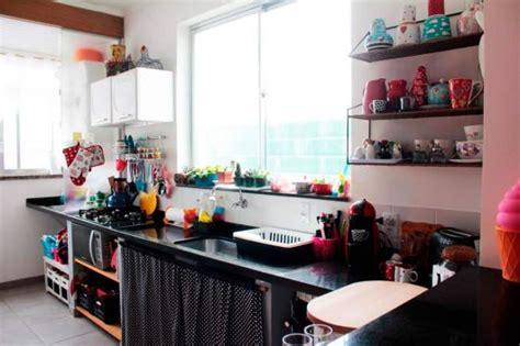 cozinha colorida decorada dicas  fotos