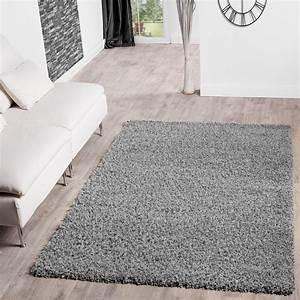 Shaggy Teppich Grau Silber : hochflor shaggy teppich preishammer einfarbig in grau ~ Bigdaddyawards.com Haus und Dekorationen