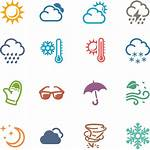 Weather Icons Oldcuts Clip