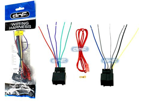 Gmc Factory Radio Wire Harnes For Aftermarket Car by 70 2105 Aftermarket Wiring Harness Stereo Adapter For