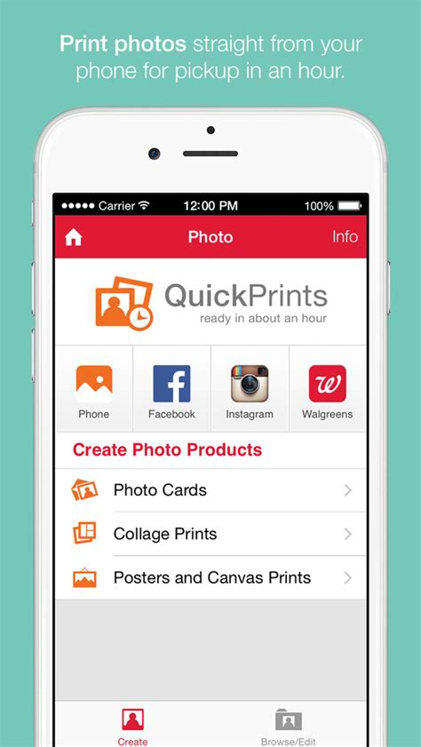 how to print pictures from phone at walgreens walgreens pharmacy clinic print photos coupons and