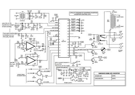 sinewave ups circuit using pic16f72 part 1