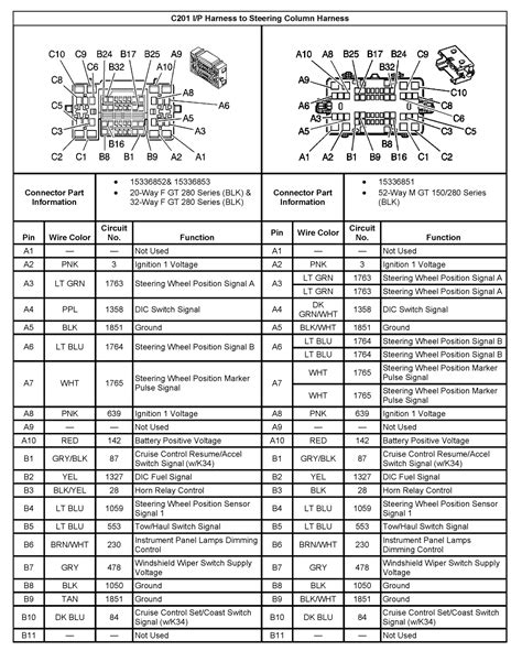 Silverado Radio Wiring Harness Diagram Collection