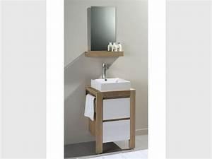 Meuble Salle De Bain Gain De Place : salle de bain gain de place salle de bains comment gagner ~ Dailycaller-alerts.com Idées de Décoration