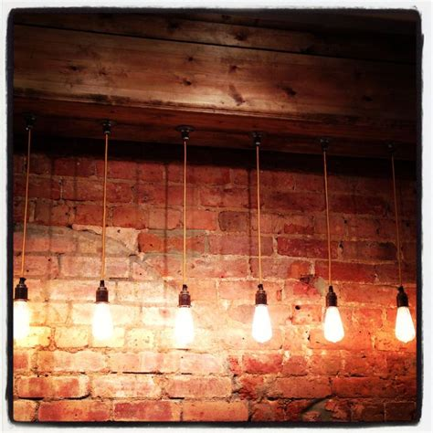 17 best images about lighting on exposed brick