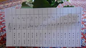 All The Notes Of My Bamboo Flute 10 Youtube