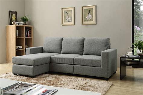 Convertible Sofa Modern by Modern Convertible Sectional Sofa Grey Rochester