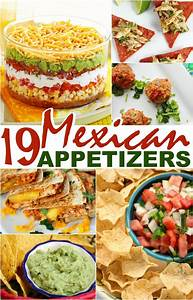 19 Mexican Appetizers - Frugal Mom Eh!