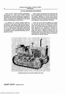 John Deere 450 Crawler Service Manual