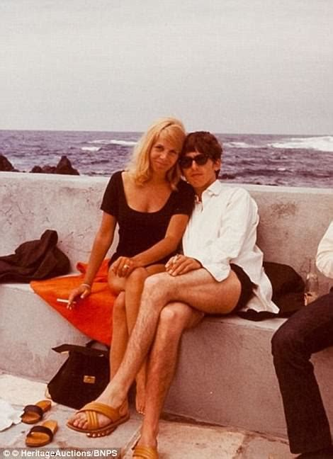 jenna boyd bikini george harrison letter up for auction daily mail online