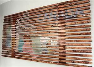 Eye Catching DIY Wood Pallet Wall Art Pallets Designs