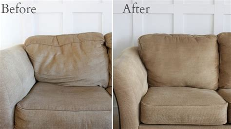where can i get sofa cushions restuffed revitalize saggy couch cushions with poly fil and quilt