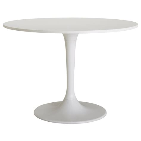 Docksta Table White 105 Cm Ikea