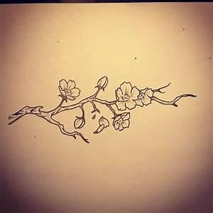 Fleur De Cerisier Tatouage : tatouage poignet fleur de cerisier ~ Dode.kayakingforconservation.com Idées de Décoration
