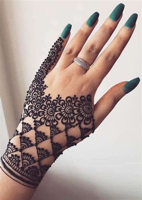 latest hand henna designs  weddings   stylesmod