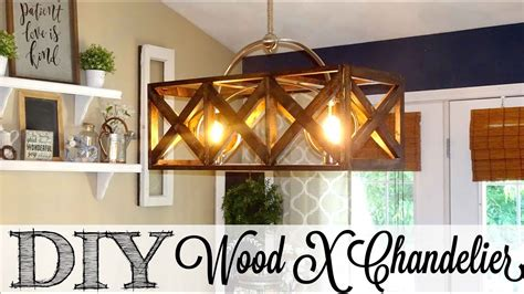 diy wooden  chandelier     collab youtube