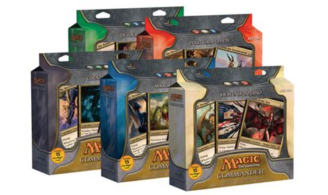 commander premade decks 2011 magic the gathering commander decklists daily mtg
