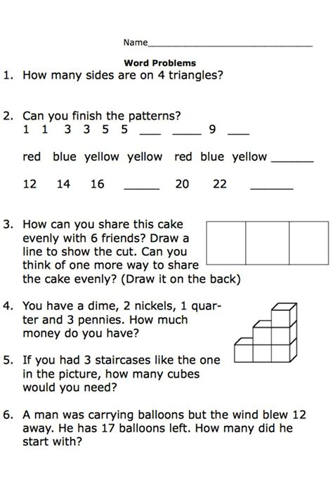 printable worksheets   grade math word