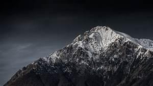Download, Wallpaper, 2048x1152, Mountain, Peak, Snowy, Night, Italy, Ultrawide, Monitor, Hd, Background