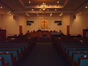 Image Gallery inside baptist church