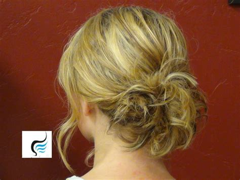 Updo For Shoulder Length Hair Hairstyle