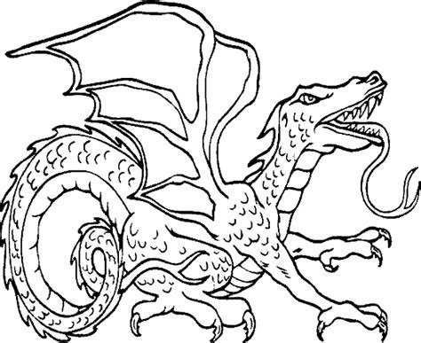 Draken Kleurplaat Berk by Kleurplaat Draak