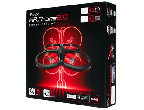 ardrone  power edition offers colourful blade customisation