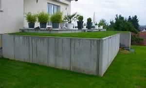 Mur En Béton : solution technique pour soutenir un talus le mur b ton dynamique environnement ~ Melissatoandfro.com Idées de Décoration