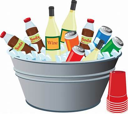 Drinks Drink Clipart Party Summer Clip Picnic