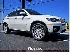 BMW X6 with 22in Asanti AF128 Wheels exclusively from