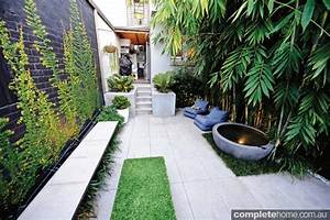 REAL BACKYARD: Inner city courtyard garden design