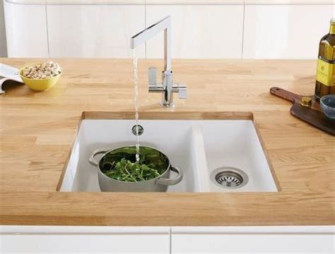 white composite kitchen sinks lamona white granite composite 1 5 bowl undermount sink 1278