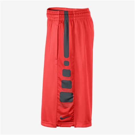 nike basketball elite stripe mens shorts xl